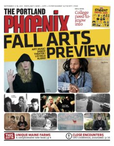 Front page of The Portland Phoenix 2014 September 12-18